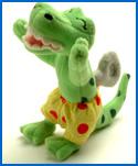 Plush Bop Bop Dinosaur